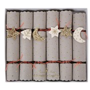6 Petits Crackers Nuit Étoilée (17,5 cm)