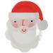 12 Assiettes Père Noel. n°1