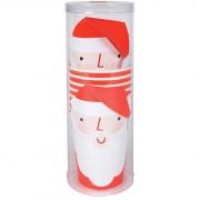 8 Gobelets Père Noel