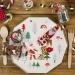 8 Assiettes Joli Noël. n°3