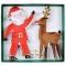 2 Emporte-pièces Père Noel et Renne (13 et 14 cm) images:#0