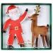 2 Emporte-pièces Père Noel et Renne (13 et 14 cm). n°1