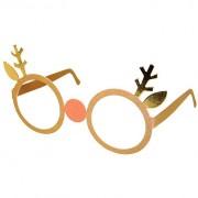 12 Lunettes Renne de Noël - Carton