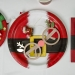 12 Lunettes Renne de Noël - Carton. n°4
