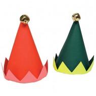 8 Chapeaux de Fête Lutins