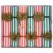 6 Petits Crackers Noël Rouge et Vert (19 cm). n°1