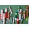 6 Petits Crackers Noël Rouge et Vert (19 cm) images:#2