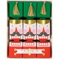 6 Petits Crackers Soldat Casse-Noisettes (16,5 cm)