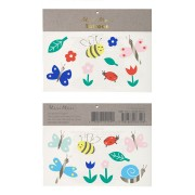 Tatouages Bijoux - Insectes / Fleurs