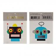 2 Tatouages Robots