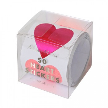 50 Stickers Love Coeur