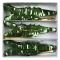 3 Mini Pinata Déco/Cadeau Crocodile (14 cm) images:#1