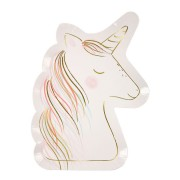 8 Assiettes Sweet Licorne