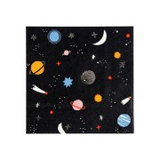 16 Petites Serviettes Voyage dans l'Espace
