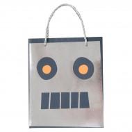 8 Sacs Cadeaux Robot Espace