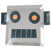 8 Assiettes Robot Espace