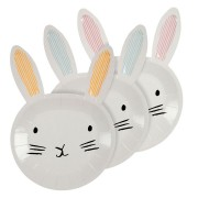 12 Assiettes Lapin Bunny