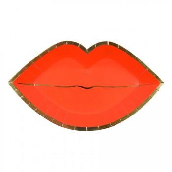 8 Assiettes Love Kiss