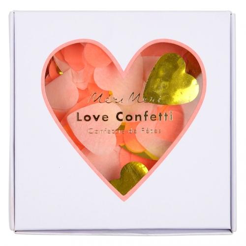 Confettis Love Coeur