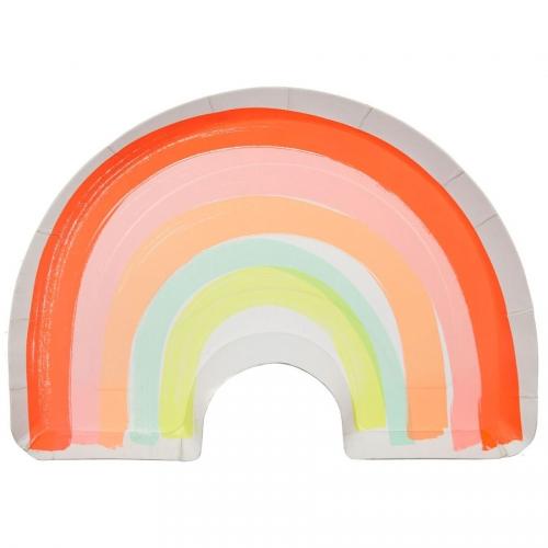 12 Assiettes Magic Rainbow