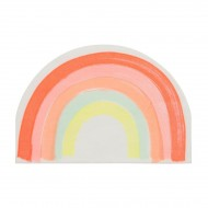 20 Serviettes Magic Rainbow