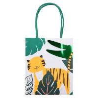 Contient : 1 x 8 Sacs Cadeaux Animaux Jungle