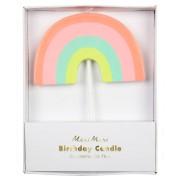 1 Maxi Bougie Rainbow (8,5 cm)