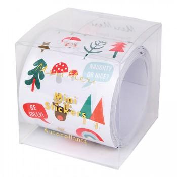 Rouleau Mini Stickers Noël