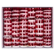 6 Maxi Crackers Christmas Candy (23 cm)