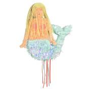 Pull Pinata Sirène Irisée (46 cm) - A déplier