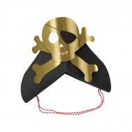 8 Bandeaux Chapeaux Golden Pirate
