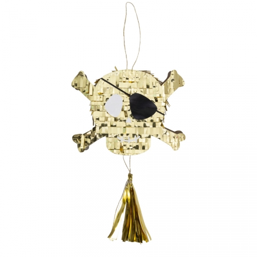 Mini Pinata Golden Pirate (12 cm)