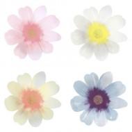 8 Grandes Assiettes Fleurs de Printemps (26 cm)