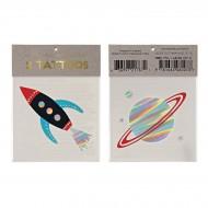2 Tatouages Espace