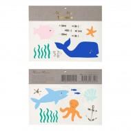 Tatouages Animaux Sous La Mer