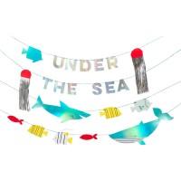 Contient : 1 x Maxi Guirlande Sous la Mer (4 x 1,20 m)