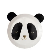 8 Assiettes Petit Panda (20 cm)