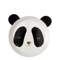 Contient : 1 x 8 Assiettes Petit Panda (20 cm)