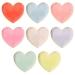 8 Assiettes Coeurs Rainbow. n°1