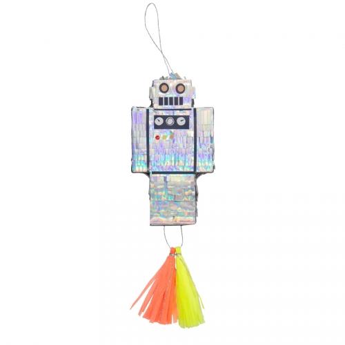 Mini Pinata Cadeau Robot (13 cm)