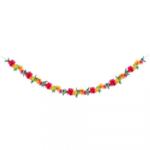 Guirlande Florale - Papier (2 m)