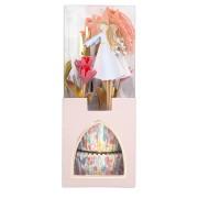 Kit 24 Caissettes et Déco Princesse Magique