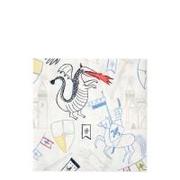 Contient : 1 x 20 Serviettes Chevalier et Dragon
