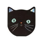 20 Petites Serviettes - Chat Noir