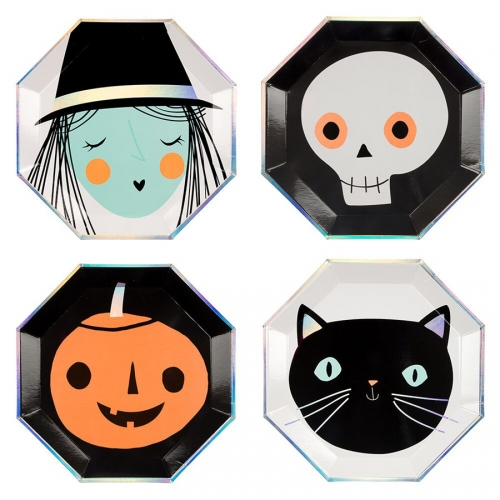 8 Assiettes - Halloween Party