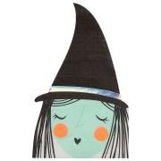 16 Serviettes - Sorcière Halloween