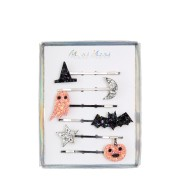 6 Barrettes à Paillettes - Halloween