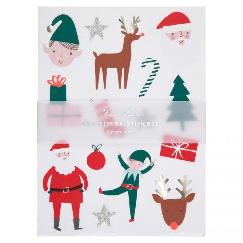 10 Planches de Stickers Noël