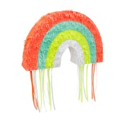 Pull Pinata Rainbow Party