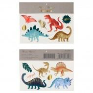 2 Planches de Tatouages - Dinosaures